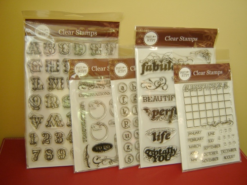 a sample of some of the stamps you could receive