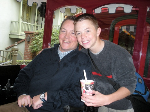 Uncle Jason and Our Nephew Jason on the Train