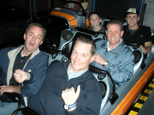The Guys on Space Mountain