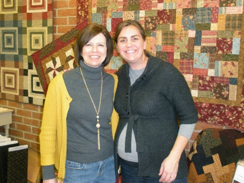 January 2 - My dear friend Jeana is making a quilt for Cole.  She's been with me through thick & thin.