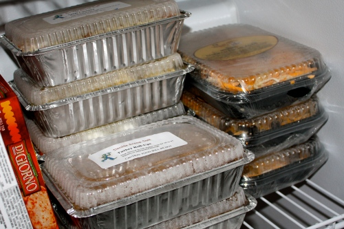 Take & Bake meals for us - but a great, quick option to give to someone in need