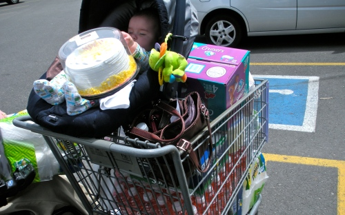 This was the first time I felt like I could tackle going to the store - it just seemed like such a big place it overwhelmed me